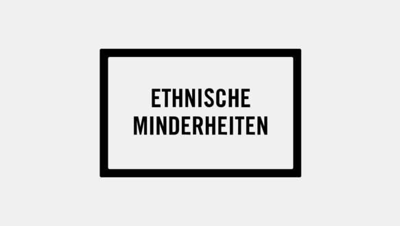 """Icon: Textfeld """"Ethnische Minderheiten"""""""