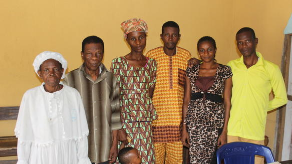 Family of Suliamon Olufemi (Olyfemi)