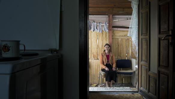 Geöffnete haustür  Überlebende sexualisierter Gewalt warten auf Gerechtigkeit ...