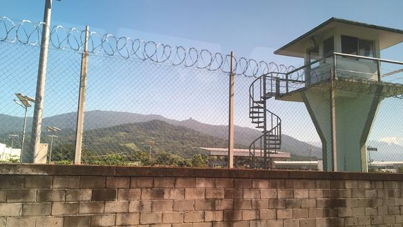 Mexico Border control checkpoint in Huixtla, Chiapas