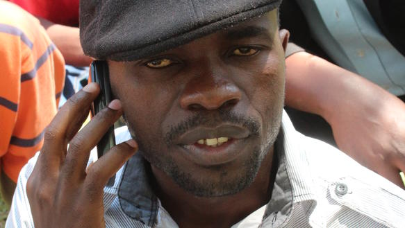 Der Journalist Itai Peace Dzamara