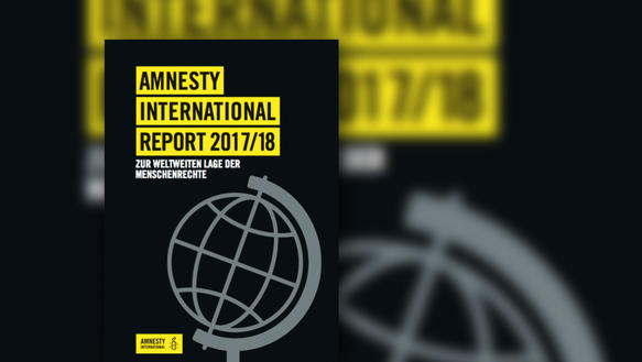 Cover des Amnesty International Report 2017/18