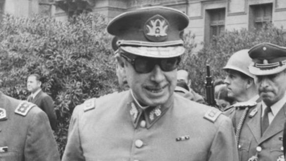 General Augusto Pinochet wenige Tage nach dem Putsch in Chile vom 11. September 1973