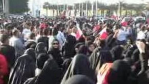 Demonstration in Bahrain, Februar 2011