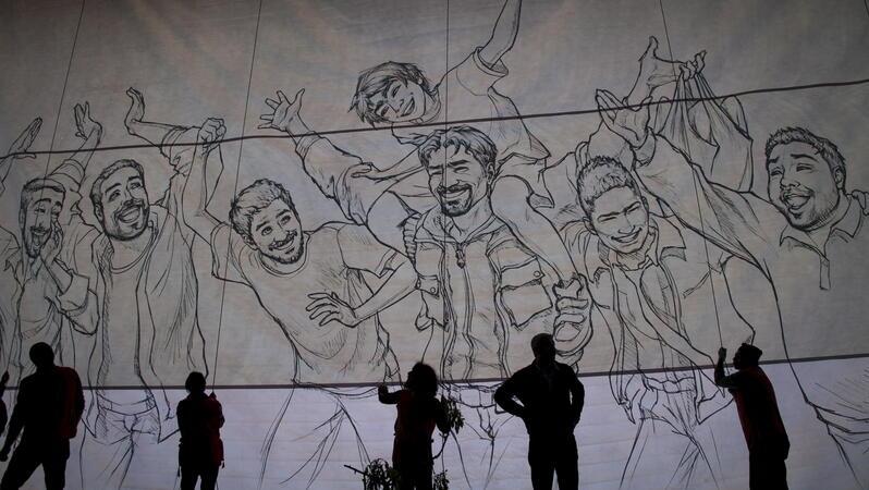Auftritt der türkischen Band Grup Yorum 2014