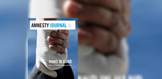 Hand in Hand: Amnesty Journal Dezember 2016/ Januar 2017