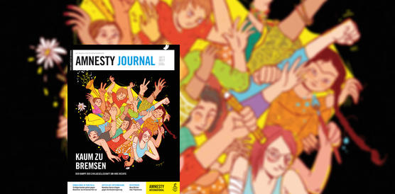 Amnesty Journal Cover: Ausgabe Oktober/November 2017